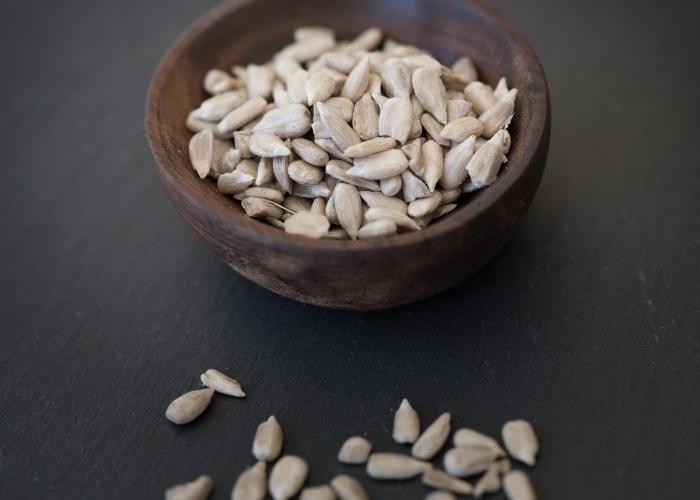 Graines/huile de tournesol: bons apports en oméga 6