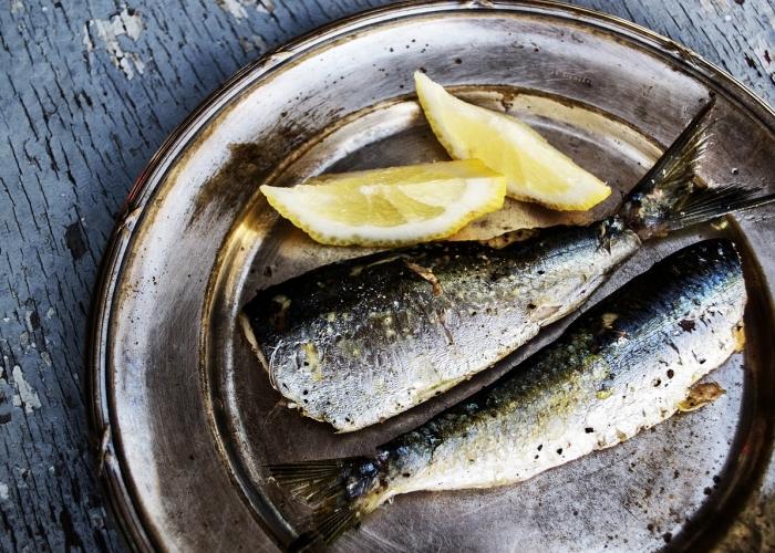 Sardines: bons apports en oméga 3