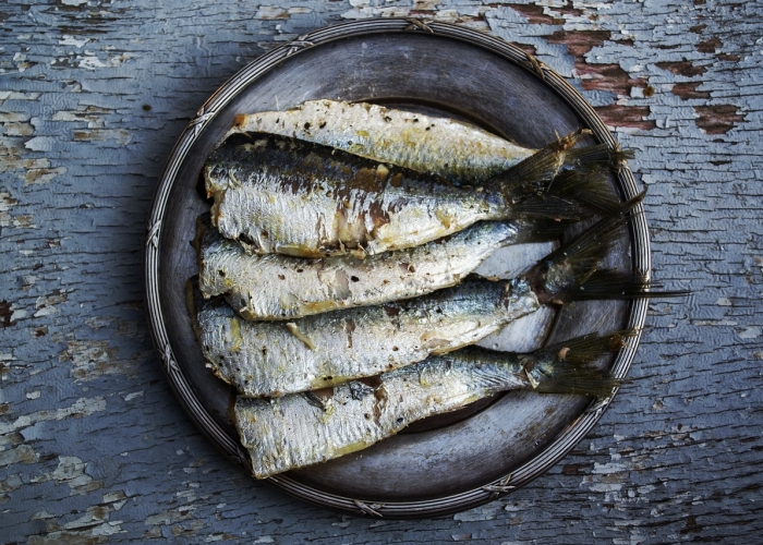 Sardines: riche en CoQ10