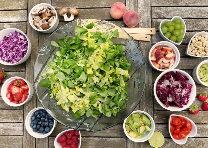 Une grosse salade par jour!