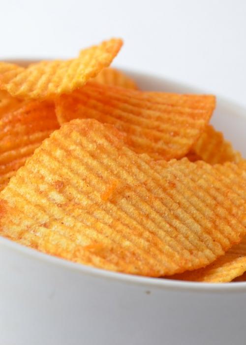 Chips et acides gras trans